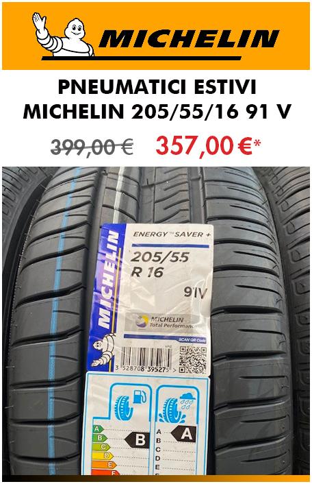 PNEUMATICI ESTIVI MICHELIN 205/55/16 91 V